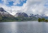 Norwegian fjord — Stock Photo