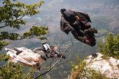 Base jumping — Foto Stock