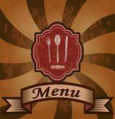 レストラン、カフェのためのバナー — ストックベクタ