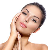 Woman with Clean  Skin o — Stock Photo