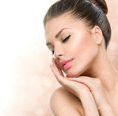 Beauty Spa Woman — Stock Photo