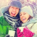 Couple having fun outdoors. — Stock Photo #58785531