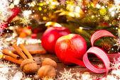 Christmas holiday decorations. — Stock Photo