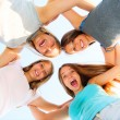 Friends staying together — Stock Photo #61540755