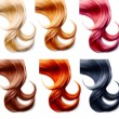 Hair palette Set — Stock Photo #61541237