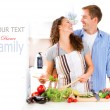 Couple Cooking Together — Stock Photo #61541367