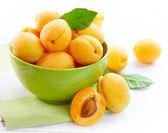 Ripe Organic Apricots — Stock Photo