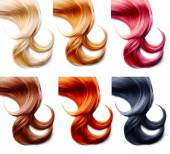 Hair palette Set — Stock Photo