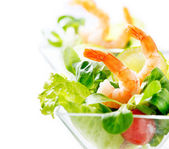 Shrimp or Prawn Cocktail. — Stock Photo