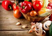 Healthy Organic Vegetables — Stock Photo