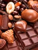 Praline chocolate sweets — Stock Photo