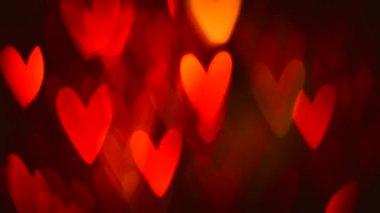 St. Valentine's Day  Background — Stock Video