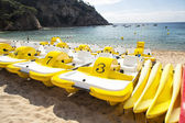 Lease of boats ashore — Stock Photo