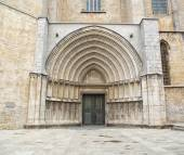 Architectural entrance of Saint Mary Cathedral  — Stock Photo