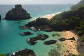 Crystalline sea beach in Fernando de Noronha,Brazil — Stock Photo
