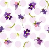 Plants in watercolor — Stock Vector