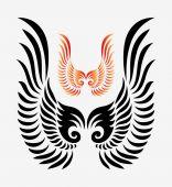 Wings symbol 2 — Stock Vector