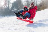 Vintersport — 图库照片