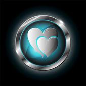 Heart vector icon — Stock Vector