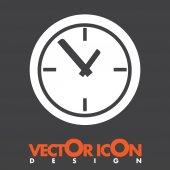 Orologio icona vettoriale — Vettoriale Stock