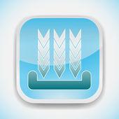 Download vector icon — Stock Vector