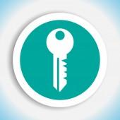 Key vector icon — Stock Vector