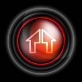 Home icon vector — Stock Vector