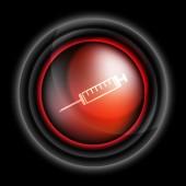 Syringe vector icon — Stock Vector