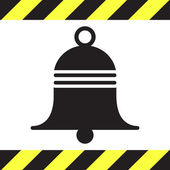 Bell vector icon — Stock Vector