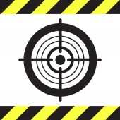 Target vector icon — Stock Vector