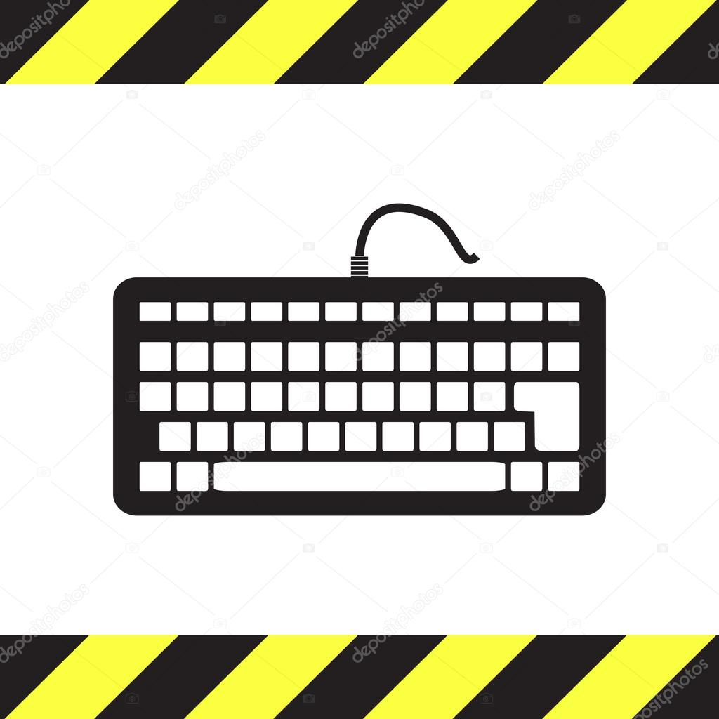 Keyboard vector icon — Stock Vector © quka #61905591