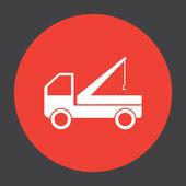 Truck crane icon — Stock Vector