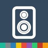 Speaker vector icon — Stock Vector