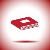 Book vector icon — Stock Vector