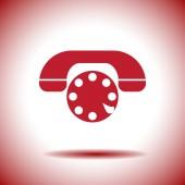 Phone vector icon — Stock Vector