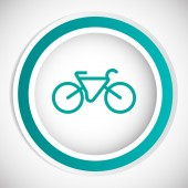 Bicycle vector icon — Stock Vector