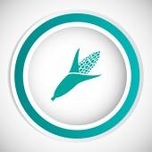 Corn vector icon — Stock Vector