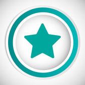 Star vector icon — Stock Vector