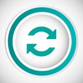 Refresh vector icon — Stock Vector