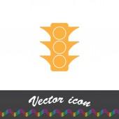 Semaphore-Vektor-Symbol — Stockvektor