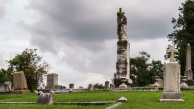Springwood Cemetery Time Lapse Video — Stock Video