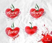 Love. Vector format — Vecteur