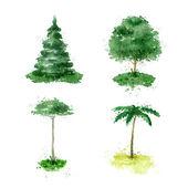 Tree. Vector format — Stock Vector