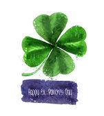 Happy St. Patrick's Day. Vector format — Stock Vector