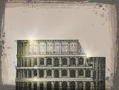Colosseum. Vector format — Stock Vector