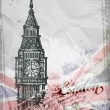 Big Ben, London, England, UK. Hand Drawn Illustration — Stock Vector #57350017
