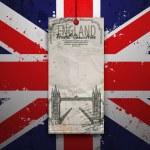 Tower Bridge. England, London — Stock Vector #57356507