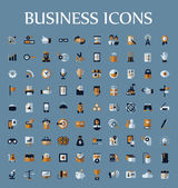 Set of web icons for business, communication and finance — Stock Vector