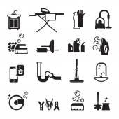 Purity icons set — Stockvektor