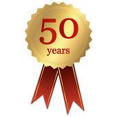 Jubilee - 50 years — Wektor stockowy